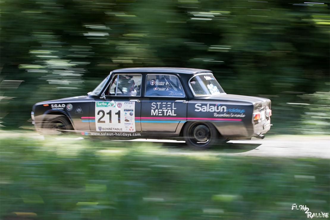 Gurwann Chevance au Rallye du Mans