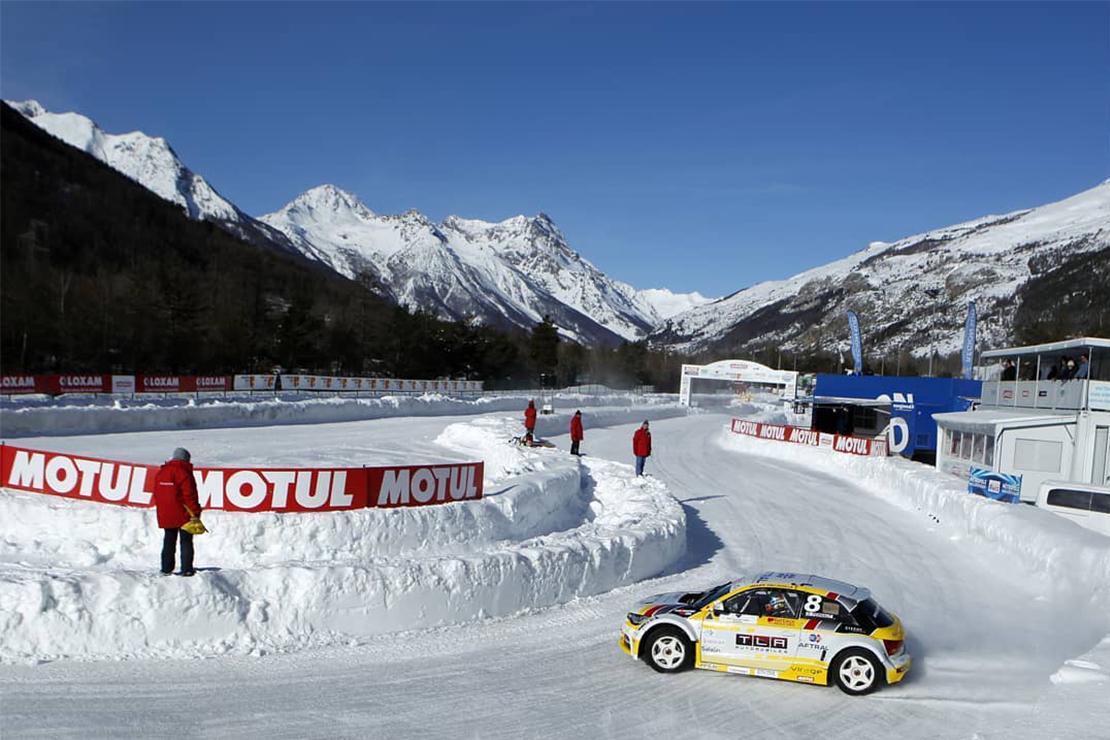La Audi A1 d'Olivier au Circuit Serre Chevalier