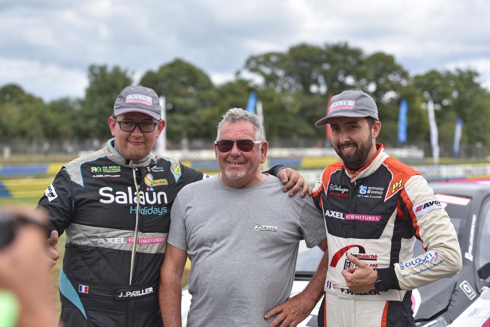 Les frères Pailler s'offrent un doublé au Rallycross de Kerlabo