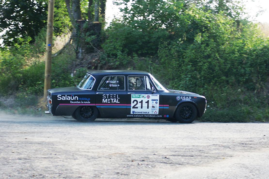 Gurwann sur le Rallye du Mans