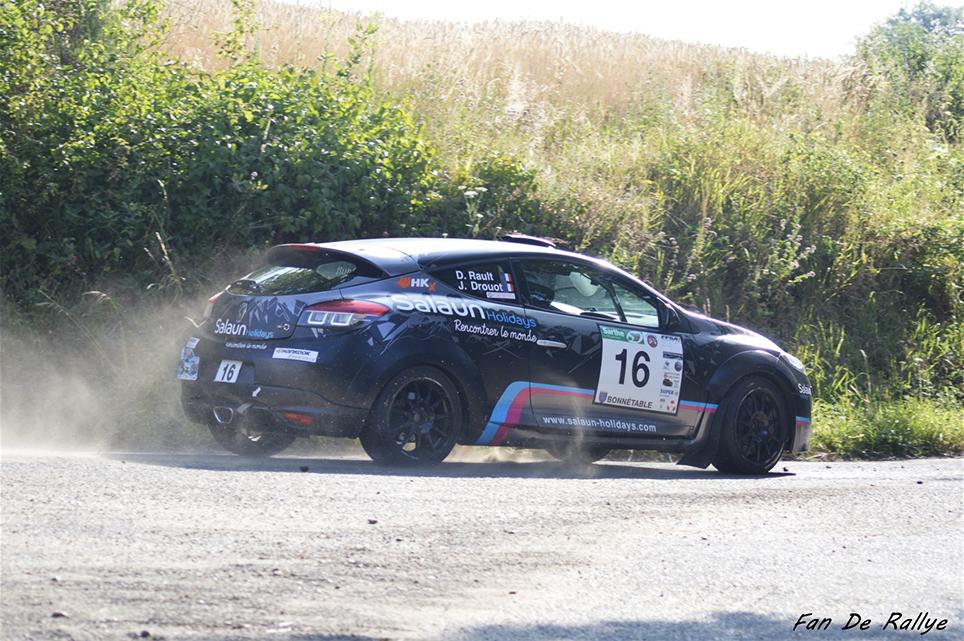 Daniel Rault au Rallye du Mans