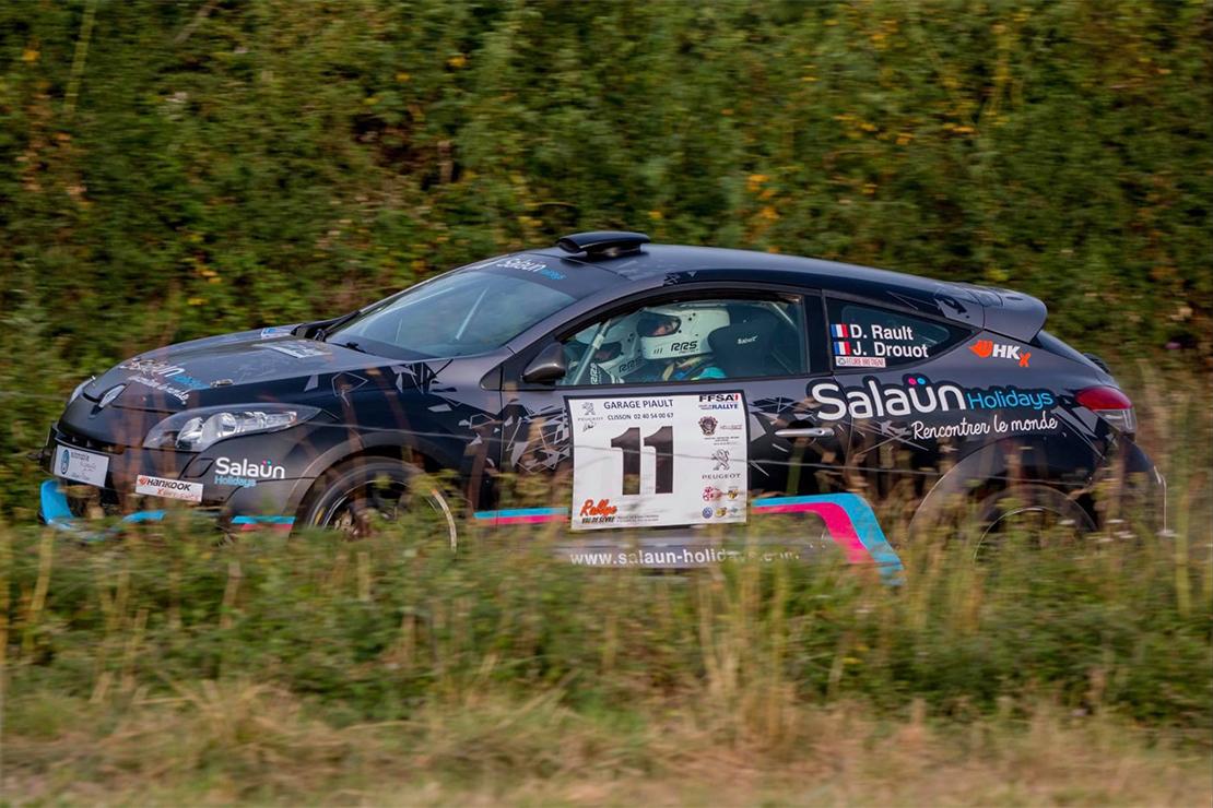 Daniel Rault au Rallye du Val de Sèvres