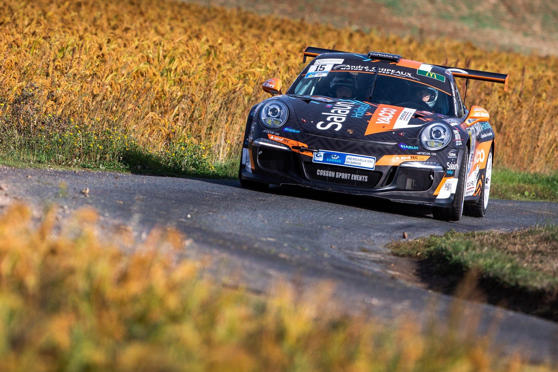 La Porsche 991 GT+ au Rallye Coeur de France 2019