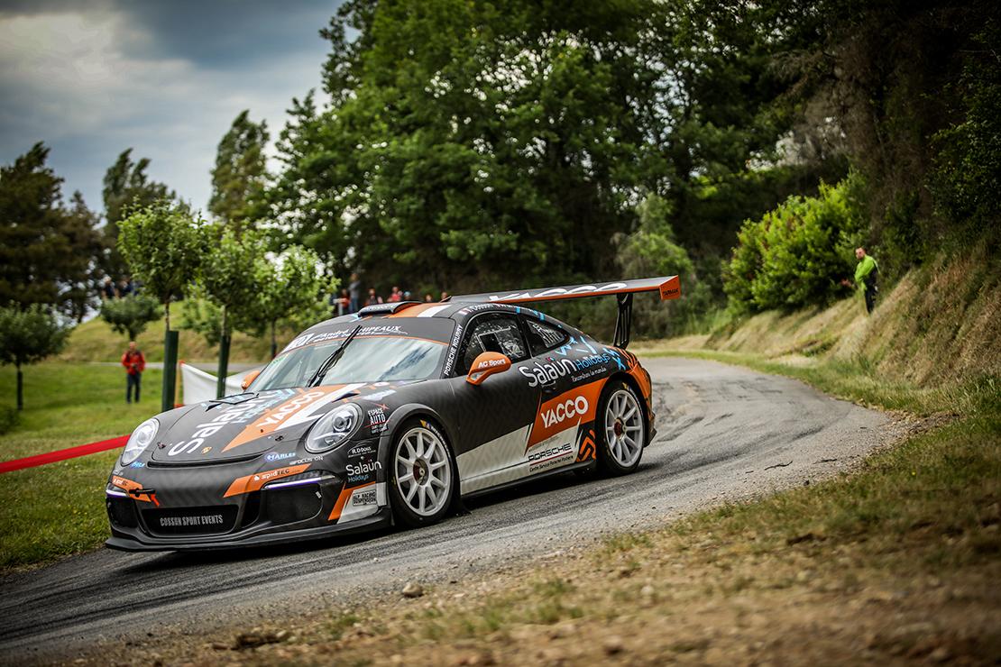 La Porsche 911 GT+ au Rallye Vins Mâcon