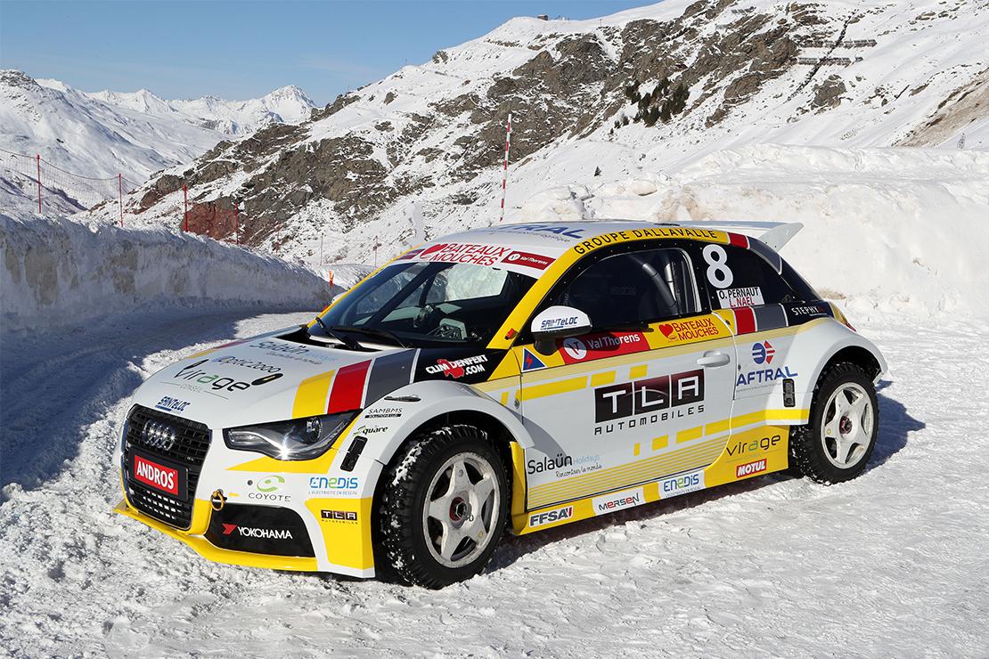 La Audi 100% électrique