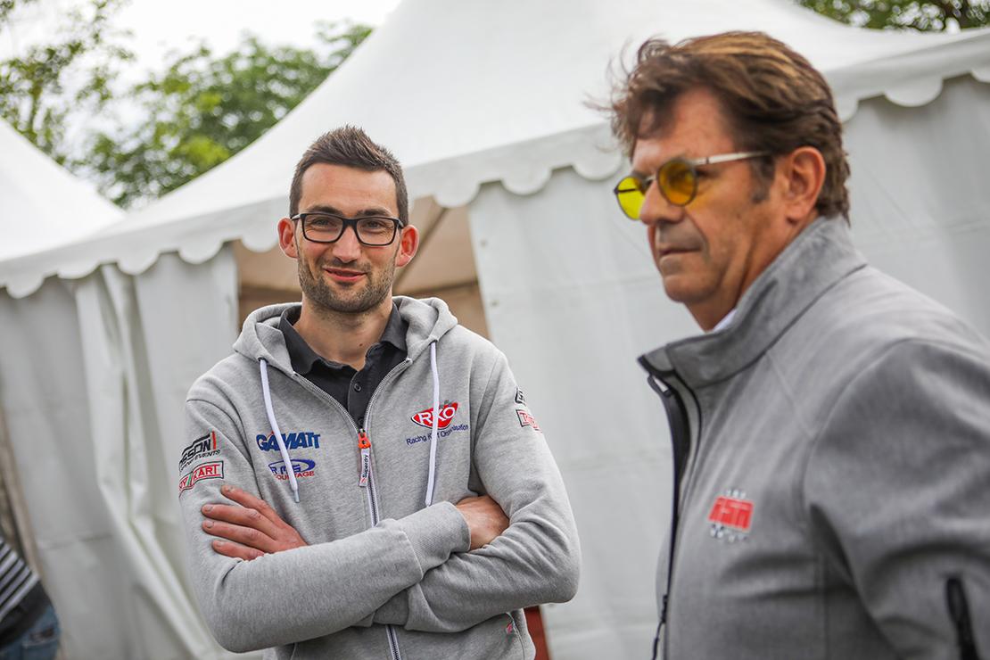 Anthony Cosson au Rallye des Vins Mâcon